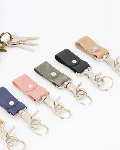 key holder, keychain, leather accessories, leather keychain, leather gift, small gift, gift for him, gift for her, keychains, leather key ring, key chain,