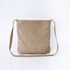 beige Crossbody Bag For Women, Suede Bag with MagneticZipper Closer, Lightweight Leather Bag, Leather Gifts, ||Beige||