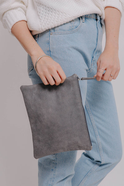 tote bag vs handbag, bags and handbags, convertible handbag and backpack, tote bag vs purse, Travel wallet,  Leather wristlet pouch, Passport case, Leather clutch purse, handmade bag, handmade bags, mayko bags ||Gray||
