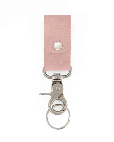 key holder, keychain, leather accessories, leather keychain, leather gift, small gift, gift for him, gift for her, keychains, leather key ring, key chain, pink leather gift, ||Pink||