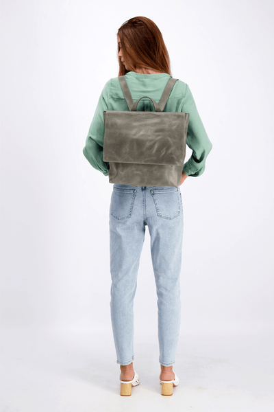 Backpack, Leather Backpack, Gray Backpack, Leather Bags, Women's Bags, Women's Backpack, Handmade Bag, Bags For School, Backpack Travel, Backpack For Women's, Bags And Purses, Leather Backpack WomenLeather Backpack Diaper Bags, Leather Backpack For Travel, Leather Backpack Laptop ||Gray||