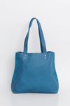 Turquoise Leather Tote , Women Leather Bag, Soft Leather Bag, Blue Leather Bag, Tote Bag, Women Bag, Handmade Leather Bag, Handbag ||Turquoise||