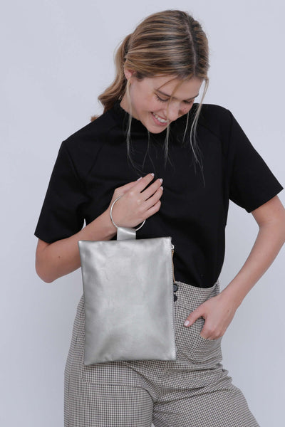 tote bag vs handbag, bags and handbags, convertible handbag and backpack, tote bag vs purse, Travel wallet,  Leather wristlet pouch, Passport case, Leather clutch purse, handmade bag, handmade bags, mayko bags ||Silver||