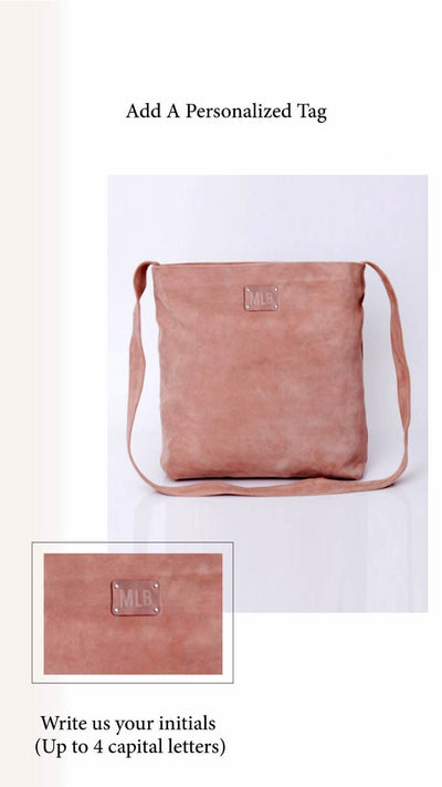 Crossbody Bag For Women, Suede Bag with Magnetic/Zipper Closer, Lightweight Leather Bag, Leather Gifts, gift for her