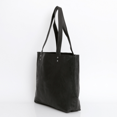 Black Leather Tote, Soft leather Bag, Leather Shoulder Bag, Leather Tote Bag For Women