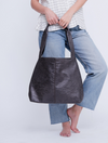 Vegan Leather Bag, Vegan Purse, Vegan Handbag, Vegan Leather Handbag, Tote Bag, Purse, Women's Handbag, Women's Tote Bag, Women's Purse, Travel Bag, Vegan Leather Bag For Women ||DistressedBlack||
