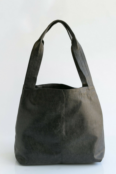 Tote Bag, Shoulder Bag, Vegan Leather Bag, Fabric Tote, Work Bag, Vegan Leather Tote ,Vegan Purse, Women Bag ,Shoulder Bag, Tote Bag, Vegan Tote, Vegan Bag, Sustainable Bag, Sustainable Tote, Woman's Bag, Woman's Tote, Handmade Bag ||Black||