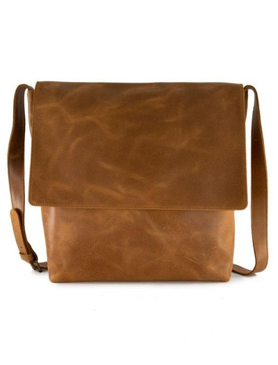 Large / LEATHER MESSENGER