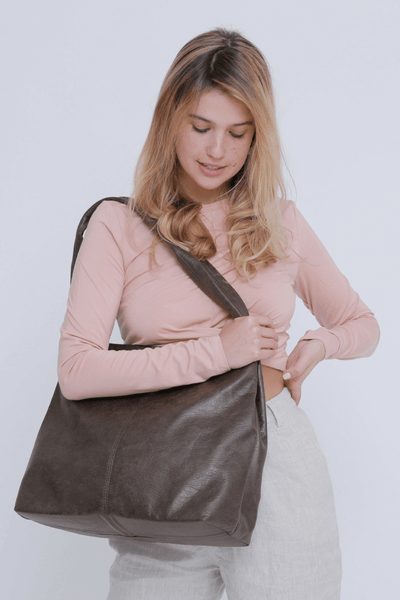 Vegan Leather Tote ,Vegan Purse, Women Bag ,Shoulder Bag, Tote Bag, Vegan Tote, Vegan Bag, Sustainable Bag, Sustainable Tote, Woman's Bag, Woman's Tote, Handmade Bag, Mayko