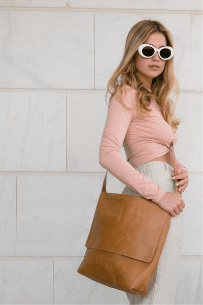 Leather Messenger Bag | Black Leather Cross body Bag | Leather Satchel | Leather Laptop Bag | Leather Shoulder Bag | Minimalist Leather Bag ||Camel||