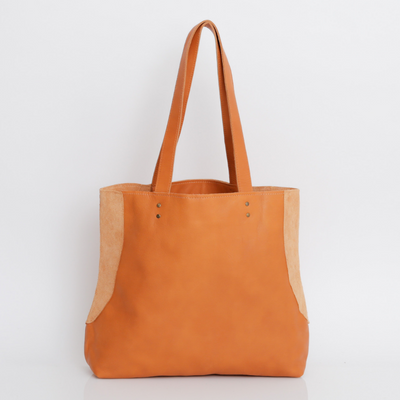 Camel Leather Tote , Women Leather Bag, Soft Leather Bag, Camel Leather Bag, Tote Bag, Women Bag, Handmade Leather Bag, Light Brown Handbag ||CamelTote||