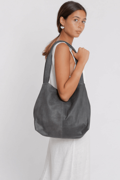 Leather Bag, Gray Leather Bag, Leather Tote , Women Leather Bag, Soft Leather Bag, Tote Bag, Women Bag, Large Leather Bag, Laptop Bag Tote ||charcoalGray||