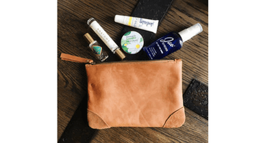 MAKEUP POUCH BAG - ROUNDED CORNERS - Mayko Bags
