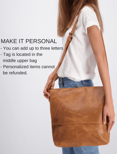 Leather Messenger Bag, Leather Crossbody Bag, Women's Messenger Bag, Women's Crossbody Bag, Messenger Bag, Crossbody Bag, Leather Bag For Women, Travel Bag, School Bag, Work Bag, Leather Gift, Gift Ideas For Women ||Brown||