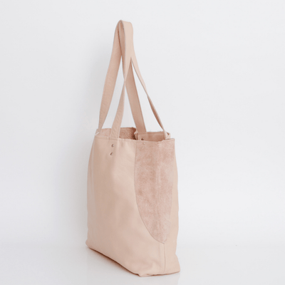 Leather Bag, Nude Leather Bag, Leather Tote , Women Leather Bag, Soft Leather Bag, Tote Bag, Women Bag, Large Leather Bag, Laptop Bag Tote