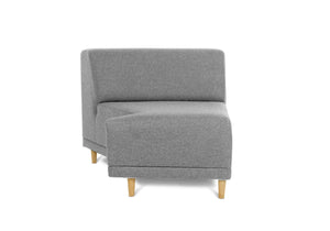 FLOKK wool. N-piece, left -