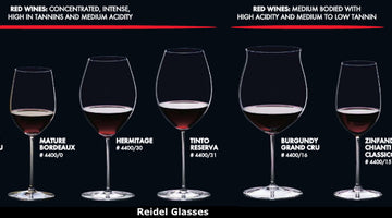 SOMM opinions on Riedel glasswares