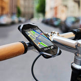 Cell Phone Holder for Bicycle and Scooter
