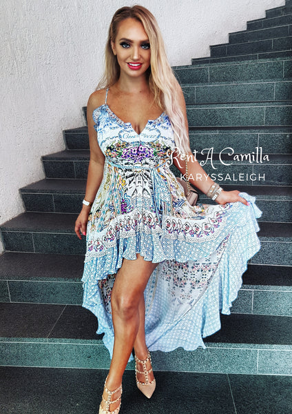 Camilla Girl Next Door High Low Dress