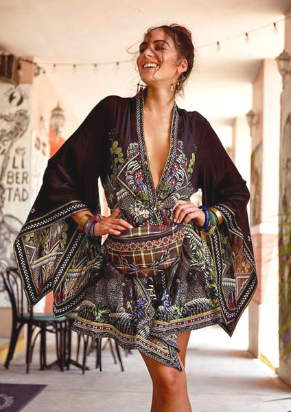 Camilla Botanical Chronicles Kimono Wrap Dress