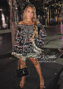 Camilla Dancing In The Dark A Line Frill Dress