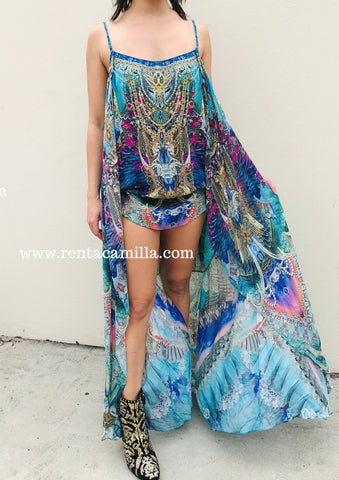 Camilla Freedom Flight Overlay Dress