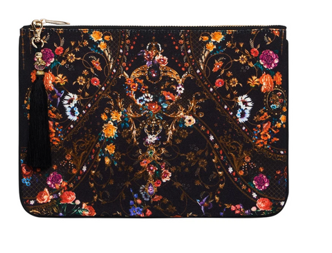 Hire: Camilla Blushing Manor/Mirror Mirror Clutch