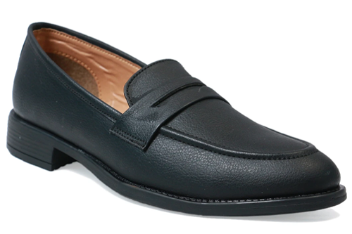 Black Men Moccasins Shoes