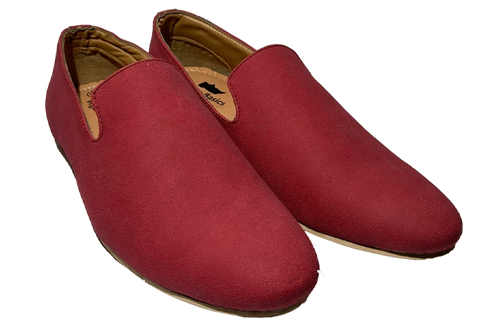 Red Suede Men Moccasins(New Launch)