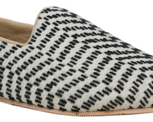 Black & White Snake Pattern Slip-Ons