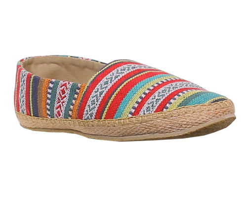 Multicolor Men's Slip-on Espadrilles