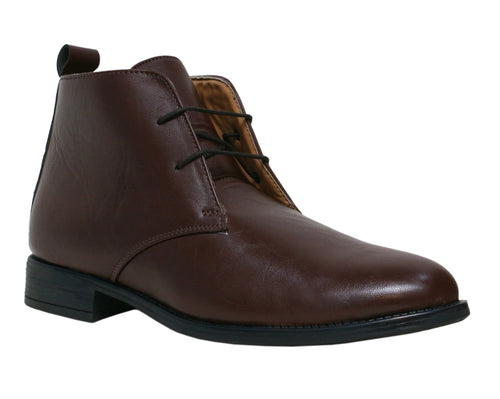 Coffee Chukka Boots