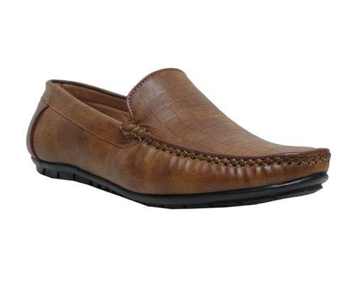 Dark Olive Men's Moccasins Shoes