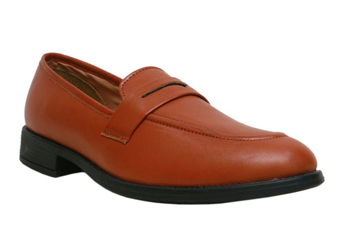 TAN Men Moccasins Shoes
