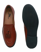 Brown Tassel Loafers