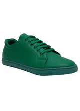 Green Men one tone neon sneakers