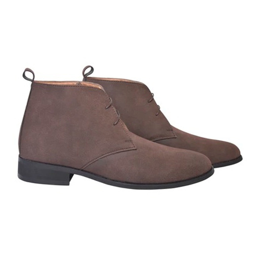 Brown Ankle Chukka Boots