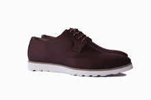Brown Suede Captain Lace Ups