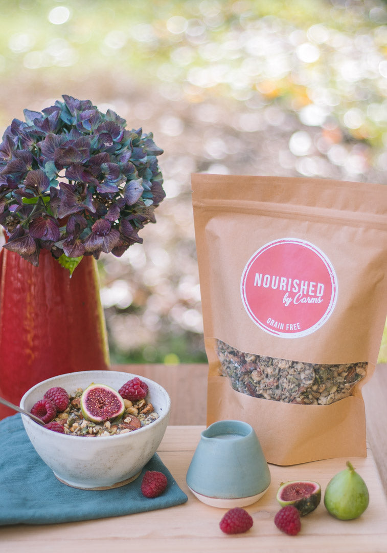 Grain and Gluten Free Granola - Nourished by Carms