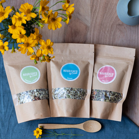 Granola Sample Packs - Nourished by Carms