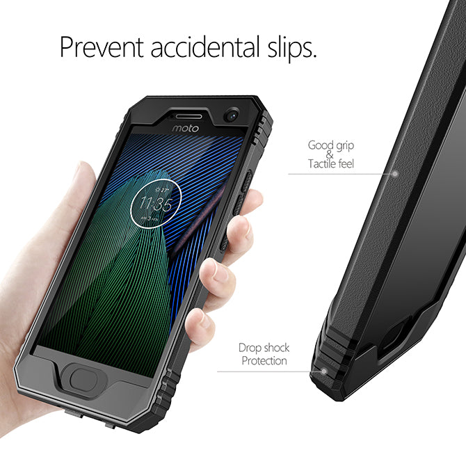 timeless design 0c754 3f736 Revolution - 2017 Motorola Moto G5 Plus Case