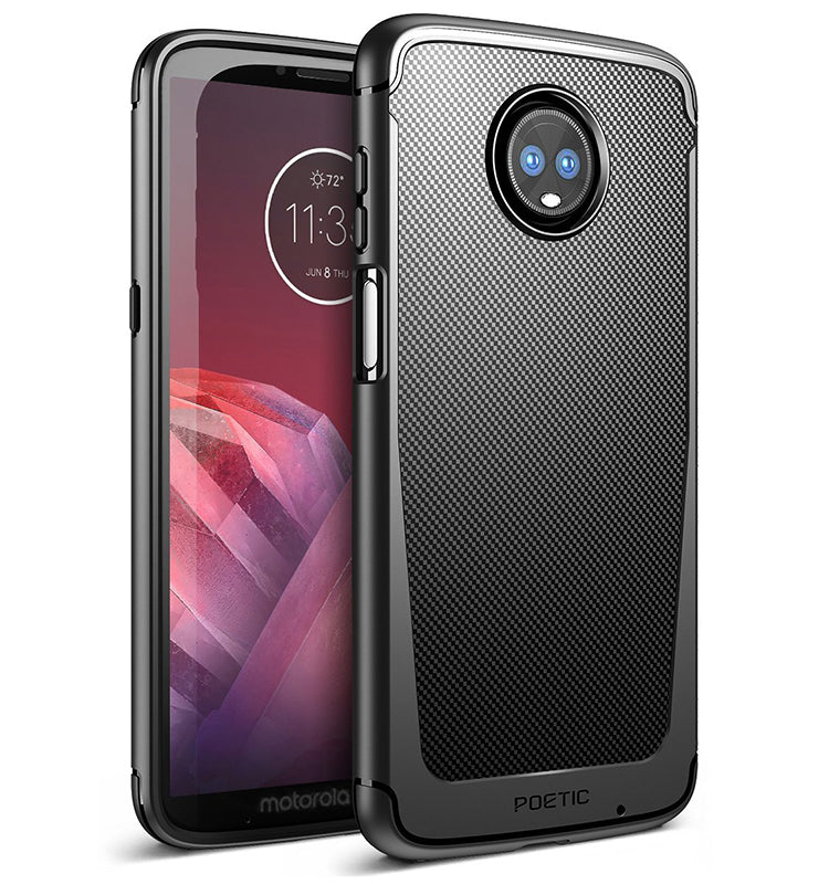 big sale 98dc9 fd9a3 Karbon Shield - 2018 Motorola Moto Z3 Play Case