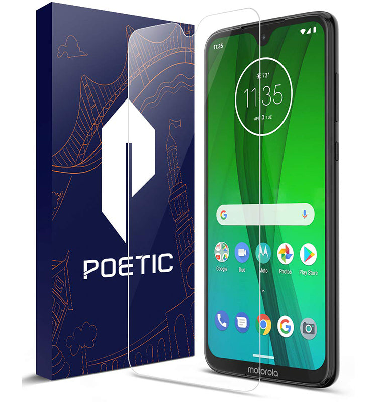 Tempered Glass - 2019 Motorola Moto G7 Screen Protector