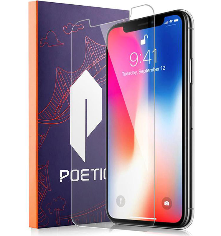 Apple iPhone X Screen Protector - Tempered Glass Clear
