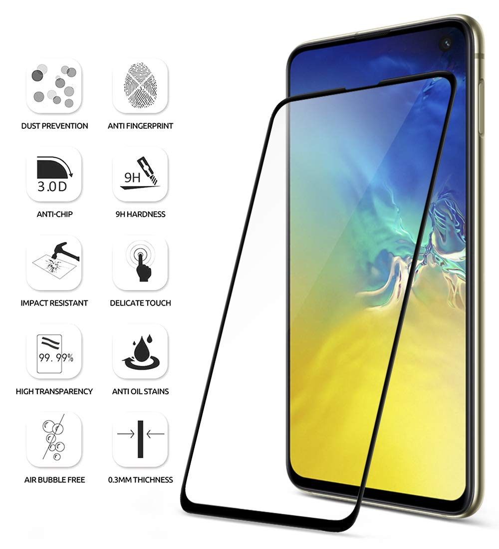 Tempered Glass - 2019 Samsung Galaxy S10E Screen Protector
