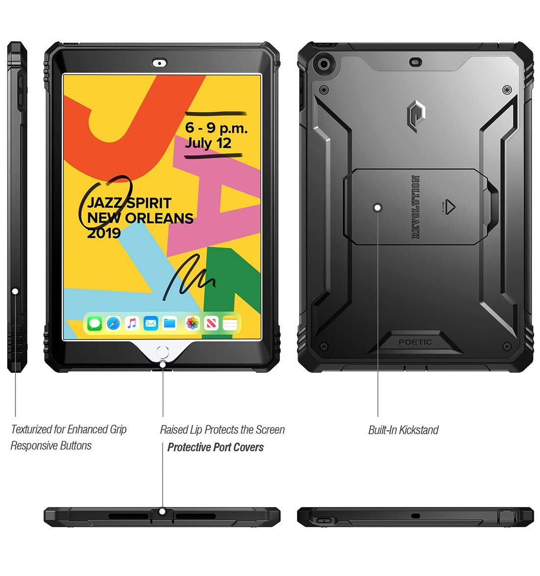 Revolution - Apple iPad 10.2 7th Gen 2019 & 8th Gen 2020 Case