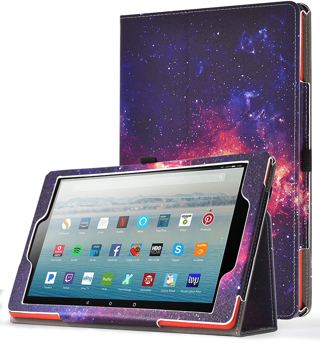SlimFolio - 2019 Amazon Fire HD 10 Case