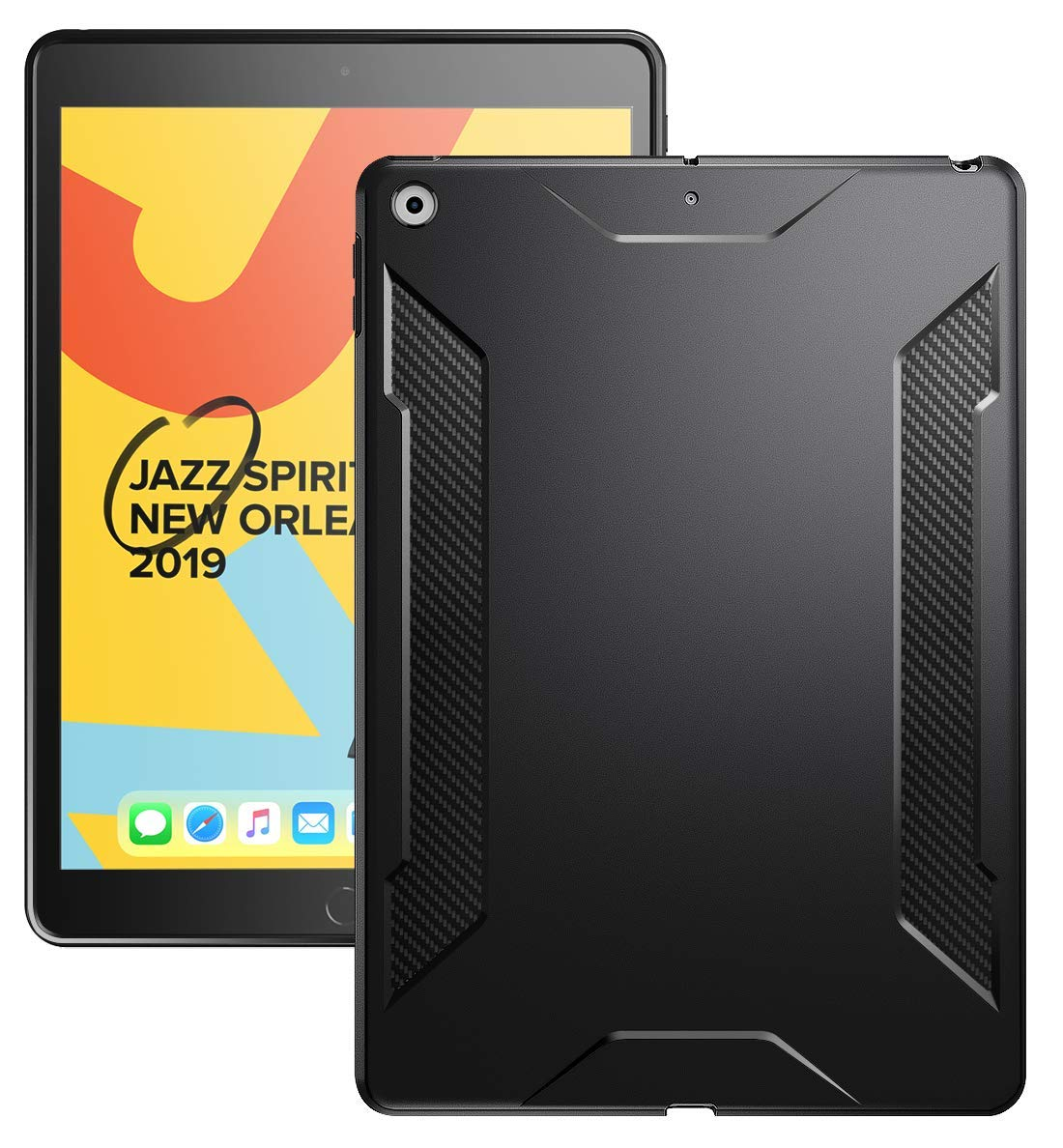Karbon Shield - Apple iPad 10.2 7th Gen 2019 & 8th Gen 2020 Case