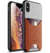 Apple iPhone XS Max Case - Nubuck Brown