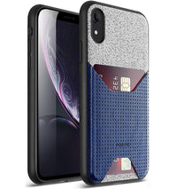 Apple iPhone XR Case - Nubuck Navy Blue